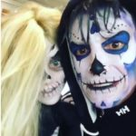 Peter Andre And Daughter Princess Trick Or Treat As Skeletons As Katie Price Is Slammed For Her 'selfish' Halloween Pics