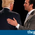 Donald Trump Jr posts emails from Russia offering material on Clinton: 'I love it'