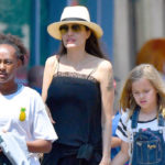 Angelina Jolie Spotted With Mystery Man On Disneyland Trip With Kids