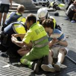 A Van Plowed Into a Crowd in Barcelona, Killing 13 People and Injuring Dozens
