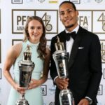 Virgil van Dijk and Vivianne Miedema win PFA player of the year awards