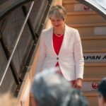 Theresa May refuses to rule out military or cyber attacks on North Korea