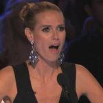 Heidi Klum Breaks Down In Tears After Golden Buzzer Pick Angelina Green, 13, Is Eliminated