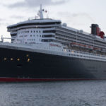 Queen Mary halts search for Briton 'overboard'