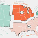Where To Say 'Merry Christmas' vs. 'Happy Holidays' — 2016 Edition