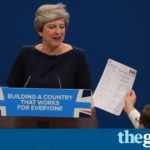 Theresa May offers the 'British dream' but speech turns into a nightmare