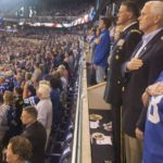 Pence leaves NFL game over protests