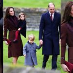 Kate and William Attend Christmas Services With The Middletons
