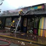 London Zoo fire: 70 firefighters tackle cafe blaze