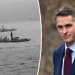 'We are NOT intimidated' Elite Navy frigate INTERCEPTS new Russian warship in UK waters