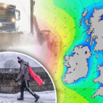 SEVERE WEATHER WARNING: Arctic gales to dump 4 INCHES of snow on Britain TODAY