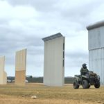 Donald Trump tests eight 30ft high walls for border with Mexico