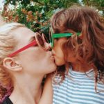Mum says shaming made her think twice about sharing a photo kissing her daughter