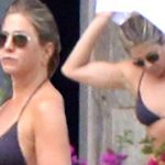 Jennifer Aniston, 48, shows off slim frame in skimpy bikini in Mexico