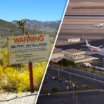 REVEALED: 'Secret Area 51 airline' flies in special planes from guarded Las Vegas terminal