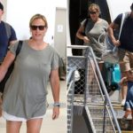 Zara and Mike Tindall touch down on Gold Coast after pregnancy news