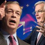 Farage & Barnier in Brexit showdown TODAY: Ukip MEP in Brussels to confront EU negotiator