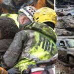 13 killed as mudslide destroys homes in California