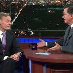Stephen Colbert asks John Dickerson what happens if Trump rebuffs Mueller, and it sounds dicey