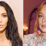 Kim Kardashian Calls Out Lindsay Lohan for 'Confusing' Accent