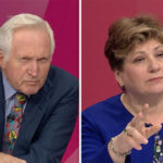David Dimbleby SHOCKED as Emily Thornberry demands 'bankers be paid same as CHILD MINDERS'