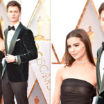Oscars 2018: Ansel Elgort's girlfriend has EPIC wardrobe malfunction as dress turns sheer