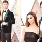 Oscars 2018: Ansel Elgort's girlfriend has EPIC wardrobe malfunction as dress turns sheer