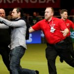 Crufts protester wrestled to floor after invading arena