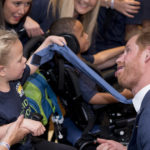 Playful Prince Harry Pulls Faces As He Meets Inspirational Kids At Awards Ceremony