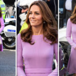 Kate Stuns In Recycled Lilac Dress For 1st Joint Visit With William Since Maternity Leave