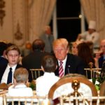 Trump And Melania Host Thanksgiving Dinner At Mar-A-Lago