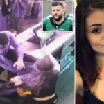 Shocking Moment Pub Manager, 24, Collapsed At Staff Christmas Party After She Was Choked So Hard By The Bar's Chef That She Thought She'd Had A Stroke