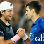 Novak Djokovic routs Lucas Pouille to set up Australian Open final with Nadal