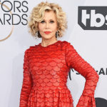 Jane Fonda, 81, Is A Stunning, Sparkly Vision In Red At SAG Awards