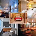 Revealed: The most luxurious cruise ship cabins on the high seas, with one costing £4,600 a NIGHT (well, it does come with a Steinway grand piano)