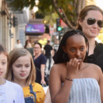 Angelina Jolie Takes Vivienne, Knox & Zahara Out For Sushi In LA — See Pic
