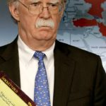 John Bolton's written note on 'troops to Colombia' raises eyebrows