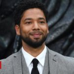 Jussie Smollett charged with filing a false report – police