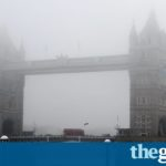 UK fog to clear in time for new year cold snap