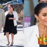 Meghan Markle Transforms the LBD Into a Maternity Wear Staple