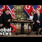 President Trump in 'no rush' for deal with Kim Jong Un on summit day two