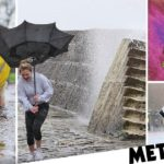 Deadly storm Gareth batters Britain with 20ft waves, strong winds and heavy rain