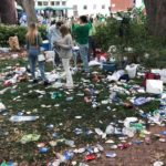 Savannah sees massive trash mess after St. Patrick's Day celebrations, sparking anger