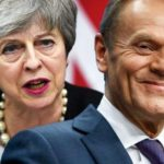 Brexit delay deal DONE: Tusk unveils terms agreed with Theresa May after MAMMOTH talks