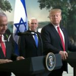 USA: Trump signs declaration recognising Israeli sovereignty over occupied Golan Heights