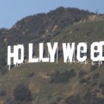 Hollywood Sign Is Altered To Read Hollyweed