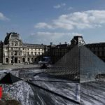 Papery pyramid: A new look at the Louvre