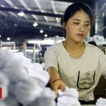 China economy: Manufacturing sector returns to growth in March