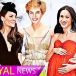 The amazing drawings Princess Diana with Kate Middleton and Meghan Markle