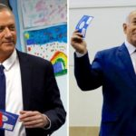 Israeli election: Netanyahu and Gantz both claim victory